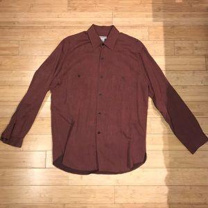 Zegna Sport Button Down Shirt Size Medium